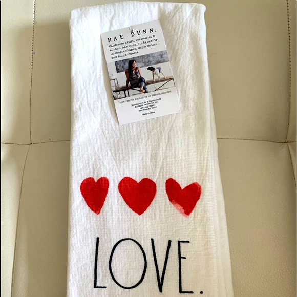 Set of 2 Rae Dunn kitchen towels❤️